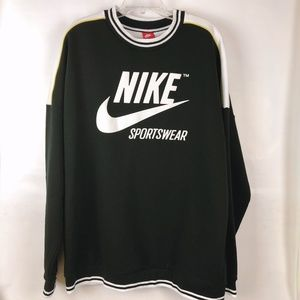 Nike color block contrast ringer crewneck, unique